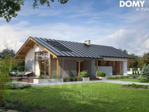 2-projekty domów parterowych