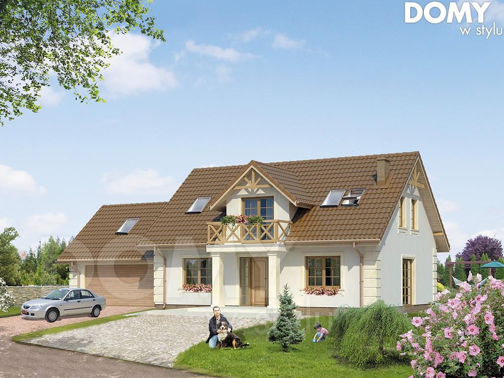 Dudek - projekt domu 140m2