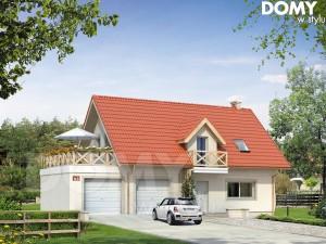 projekt domu dużego 140m2