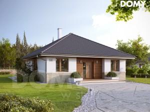 projekt domu jednorodzinnego parterowego
