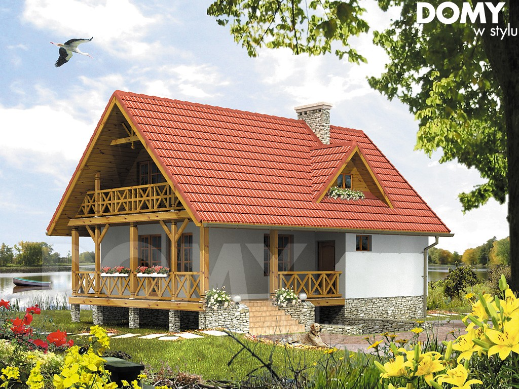 projekt domku Takt